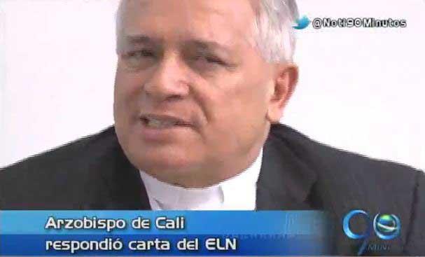 Arzobispo de Cali respondió a la carta enviada por el ELN