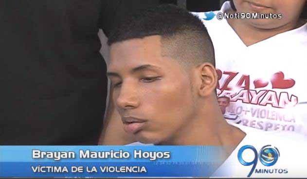 Brayan Mauricio Hoyos agradece la solidaridad de los caleños