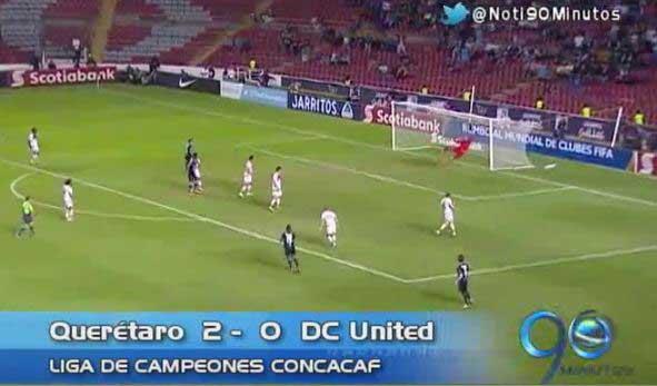 Yerson Candelo marcó gol con el Querétaro en Copa Concacaf