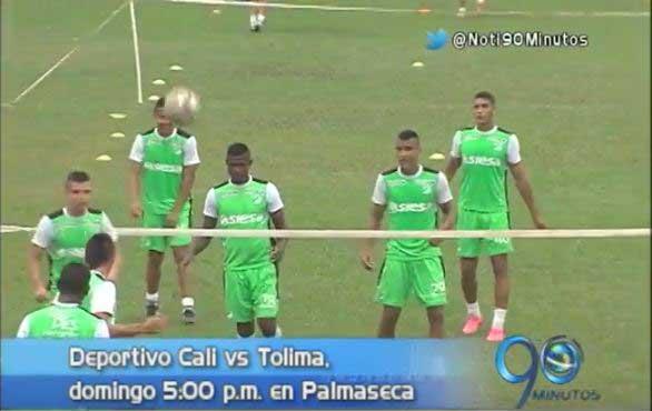 Deportivo Cali saldrá ante Tolima a reivindicarse ante su afición