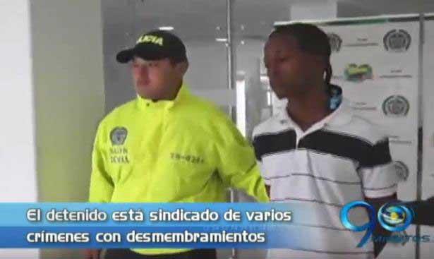 Capturan en Buenaventura a un hombre sindicado de desmembramientos