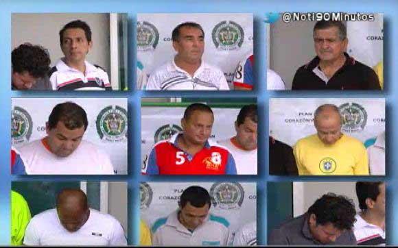La Policía captura a 12 presuntos abusadores sexuales