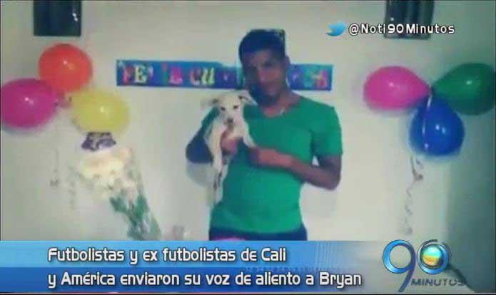 El caso Bryan recibió mensajes esperanzadores de futbolistas locales