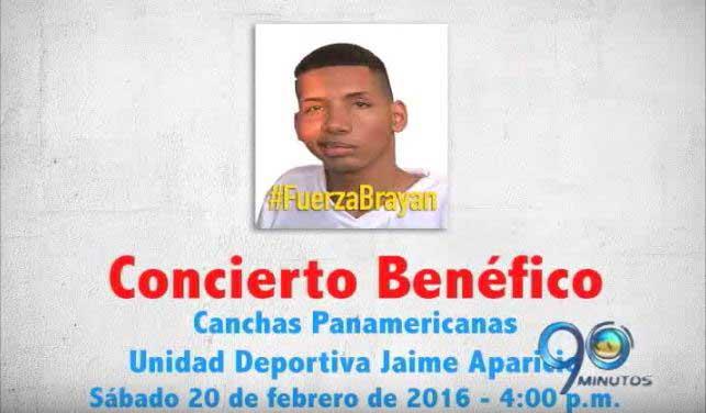 Promo concierto benéfico en las canchas panamericanas #FuerzaBryan