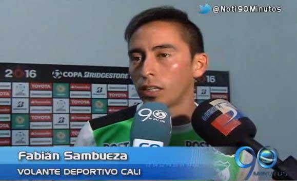 Jugadores del Cali ven con optimismo avance en Copa Libertadores