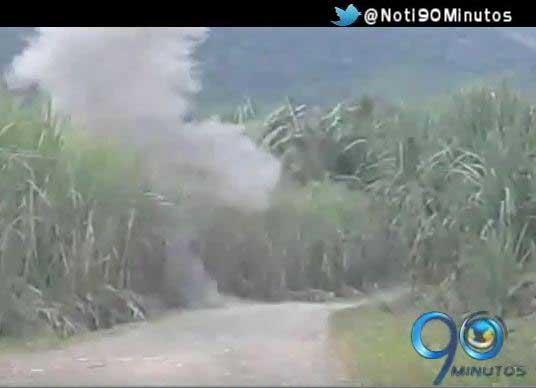 Ejército desactiva campo minado en Barbacoas, Nariño