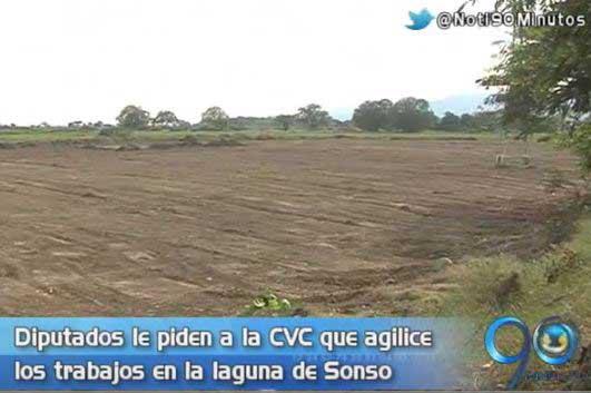 Piden a la CVC acelerar trabajos de recuperación de la Laguna de Sonso