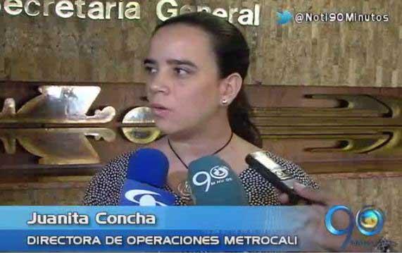 Directora de Operaciones de Metrocali habló sobre las protestas