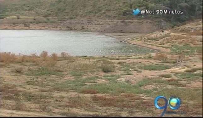 El embalse Sara Brut en el Valle está en crisis, se agota el agua