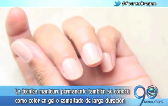 Novedosa técnica de maquillaje de uñas permite que dure hasta 21 días