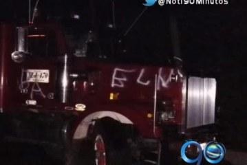 Autoridades restablecen paso vehicular en la vía Tumaco-Pasto