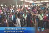 Justicia indígena condenó a 5 presuntos guerrilleros