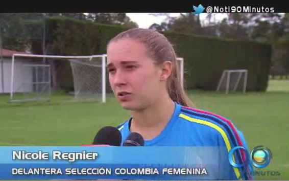 La caleña Nicole Regnier fue convocada a Selección Colombia olímpica