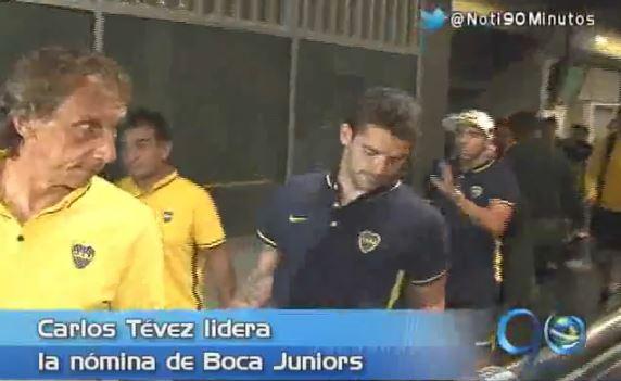 Boca Juniors llegó al aeropuerto de Palamseca a las 4 de esta mañana