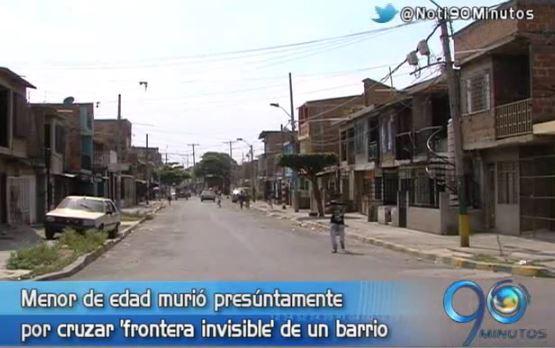 Asesinada menor de edad presúntamente por cruzar 'frontera invisible'