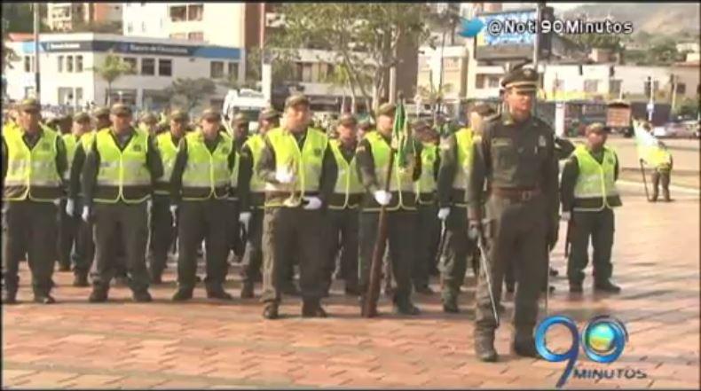 Policía Metropolitana de Cali recibió 250 patrulleros para reforzar la seguridad