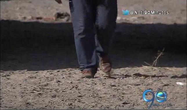 Fenómeno del Niño secó la parte baja del río Frayle a la altura de Palmira
