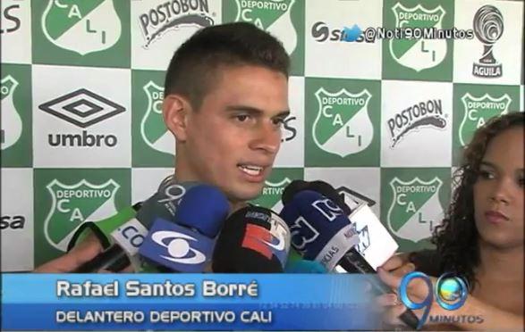Santos Borré del Dépor Cali terminó con su sequía de goles
