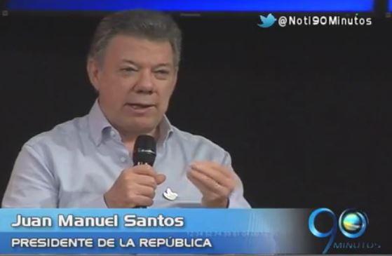 Santos invita a vallecaucanos a conocer más del proceso de paz
