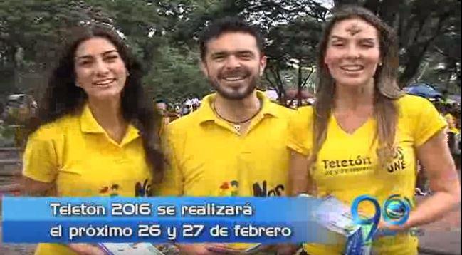 Con reconocidas figuras televisivas, la gira Teletón 2016 llegó a Cali