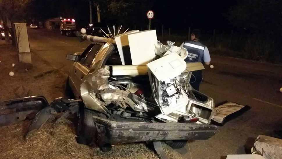 Accidente en vía Cañasgordas dejó dos lesionados