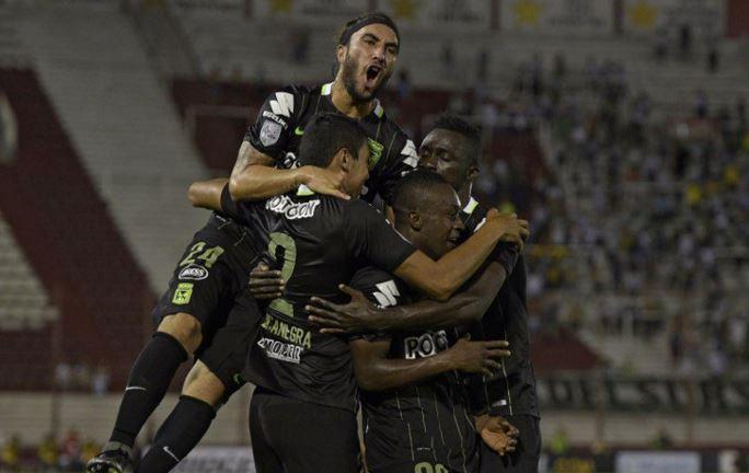 Atlético Nacional vence a domicilio a Huracán y es líder del grupo 4