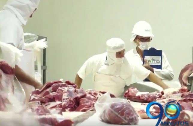 Invima dio vía libre para exportar carne bobina a Libia