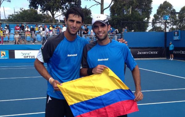 Sebastian Cabal y Robert Farah, la tercer mejor dupla del ranking ATP