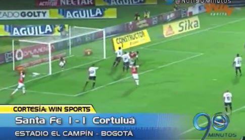 Cortuluá empató en su visita a Santa Fe y más, en el Panorama Deportivo