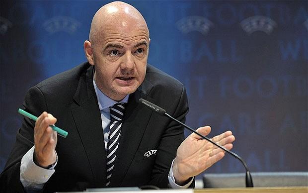 Gianni Infantino fue elegido como el nuevo presidente de la Fifa