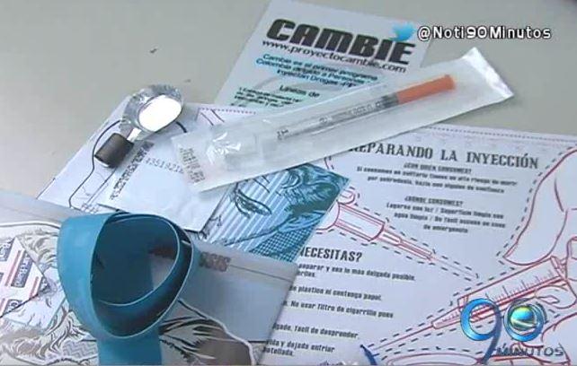 Se han entregado 1.500 kits de heroína a pacientes en Cali