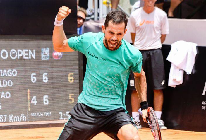 Santiago Giraldo avanzó a los octavos de final de ATP 500 de Río de Janeiro
