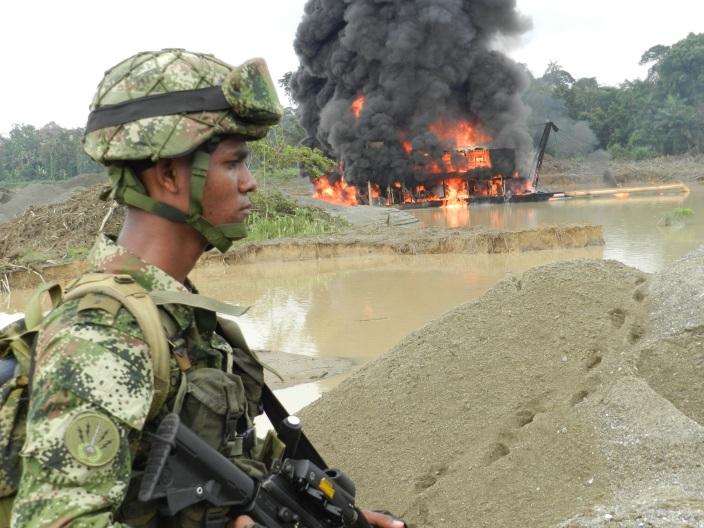 Ofensiva contra la minería ilegal en el Chocó