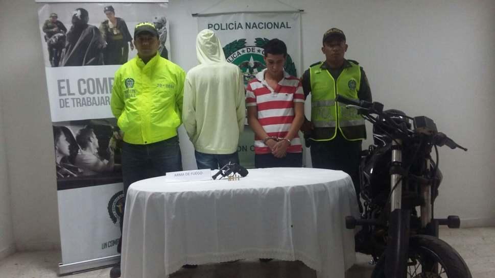 Capturados tres homicidas en el municipio de Caicedonia