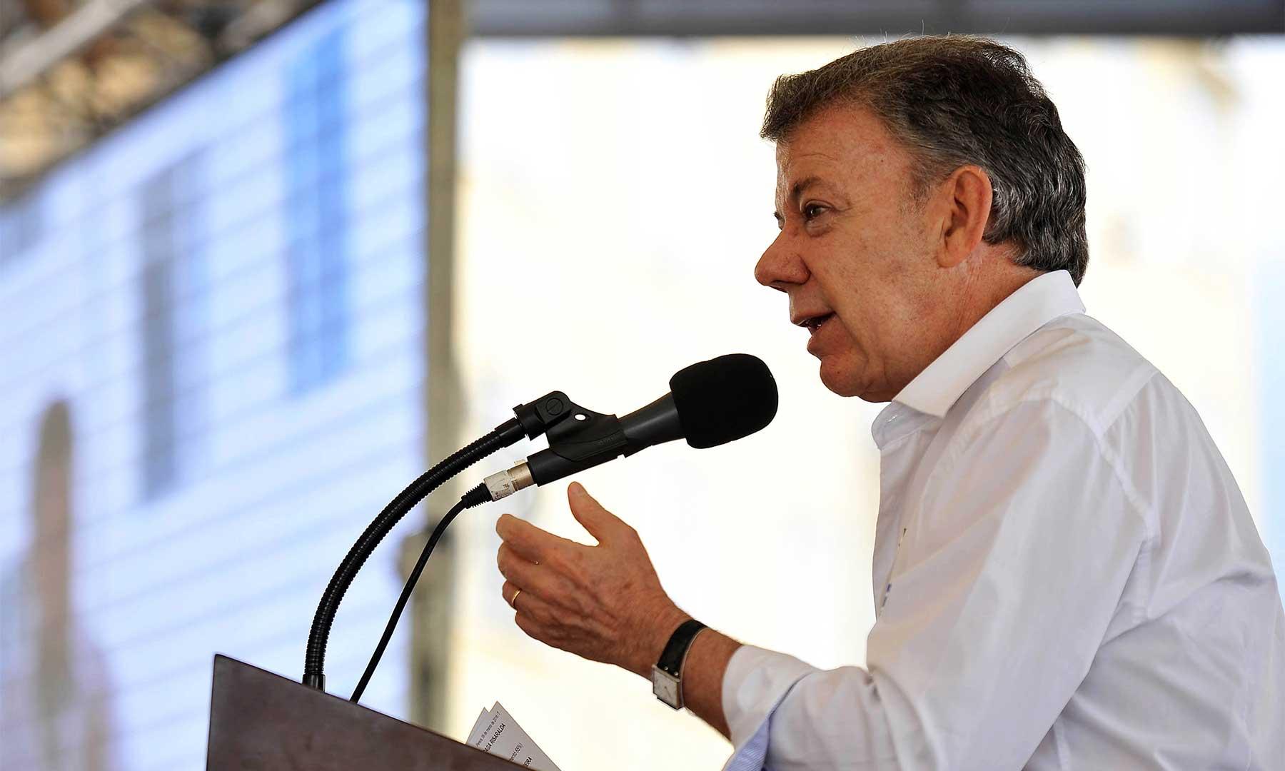 Santos dice que no firmará mal acuerdo con FARC por cumplir fecha de 23 marzo