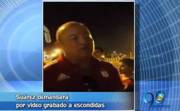 Alberto Suárez anuncia demanda contra quienes publicaron video