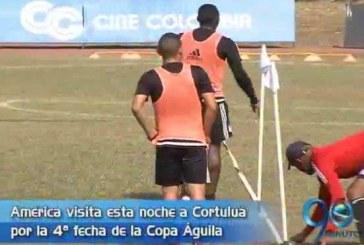 América de Cali visita a Cortuluá FC esta noche por Copa Águila