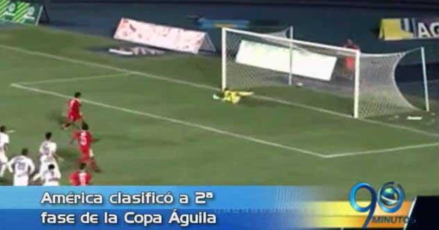 América venció a Atlético FC y lidera el grupo E de Copa Águila