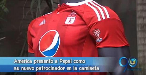 América presentó a Pepsi Cola como su nuevo patrocinador