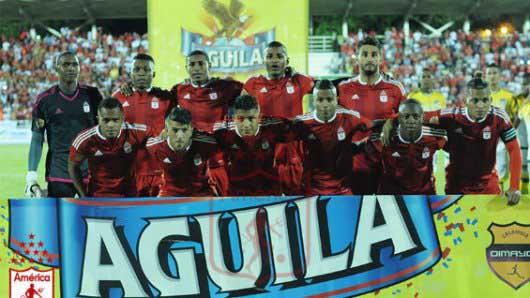 América goleó 5-1 a Orsomarso en la tercera fecha del Torneo Águila