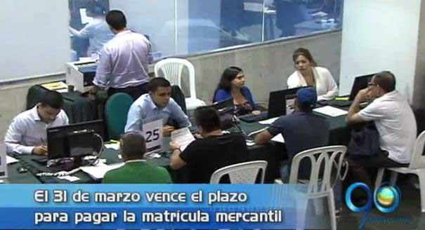 Cámara de Comercio invita a empresarios a renovar la matrícula mercantil