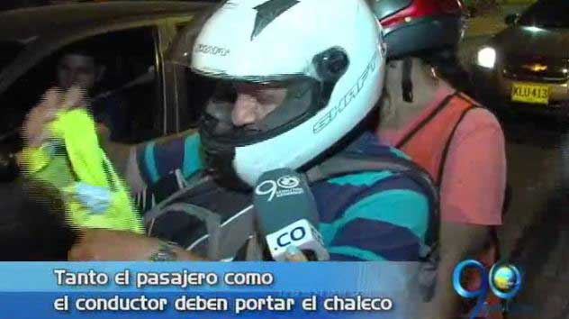 Campaña de seguridad vial para motociclistas