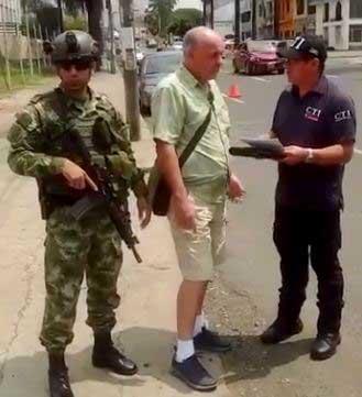 Hombre con orden de extradición a Perú fue capturado en Cali