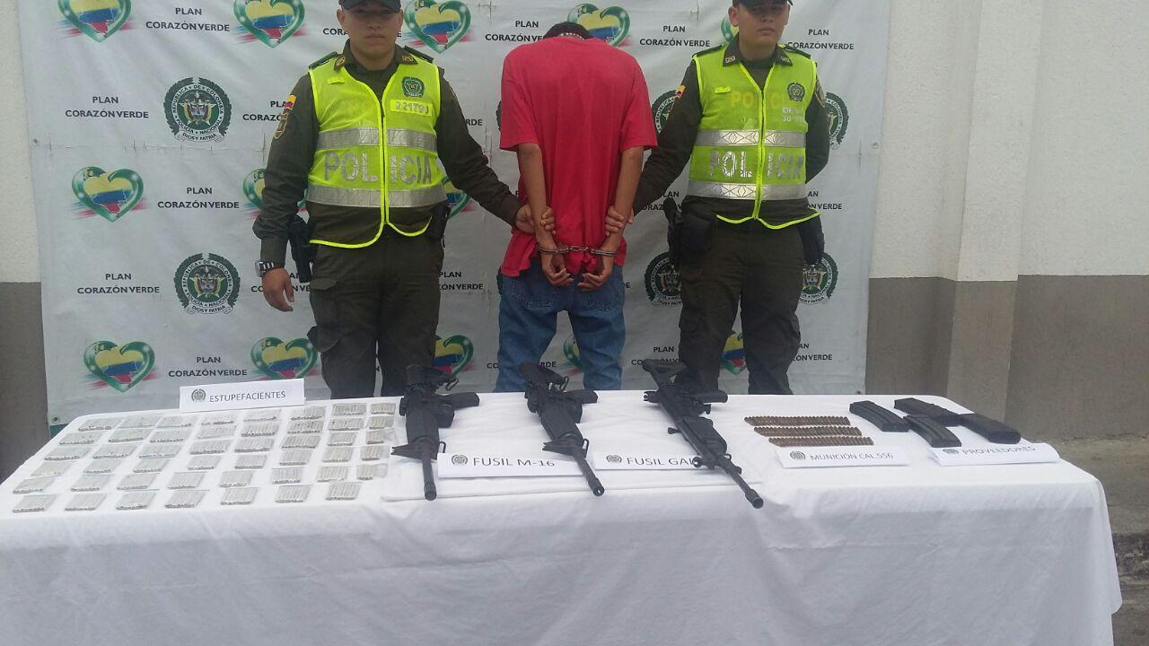 Capturados alias 'Muerto' y 'Memo' en el municipio de Tuluá