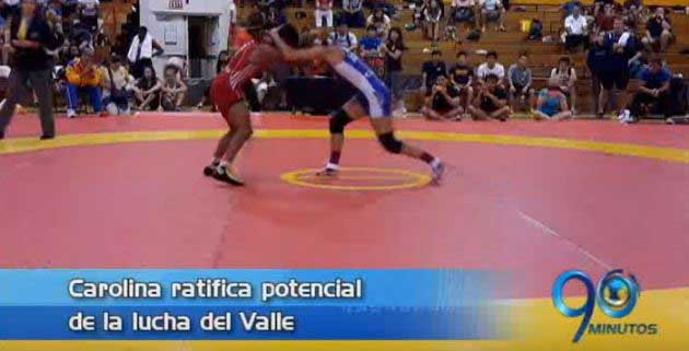 La luchadora caleña Carolina Castillo consiguió cupo a los Olímpicos