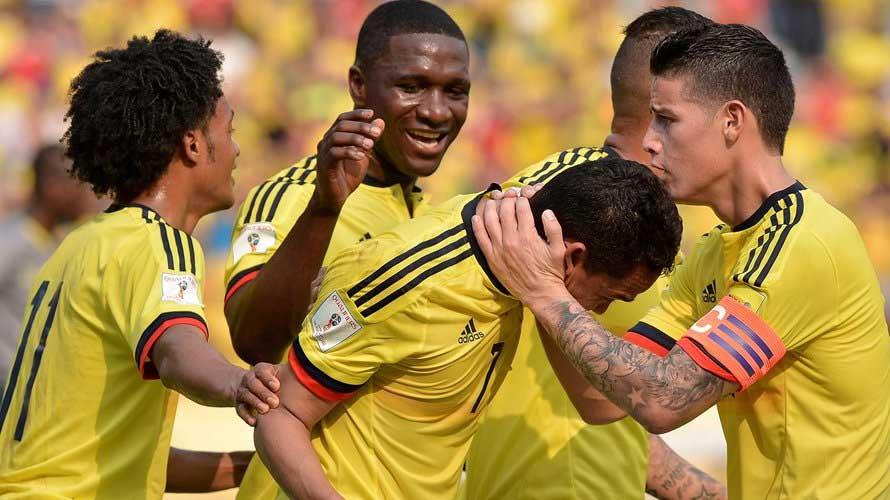 Colombia ganó, gustó y goleó a Ecuador en Barranquilla