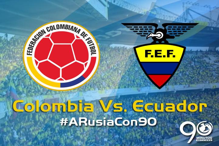 ¿Cuál será el resultado del partido entre Colombia y Ecuador por eliminatorias?