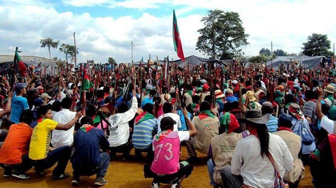 1.200 indígenas bloquearon la entrada de un balneario en el Cauca