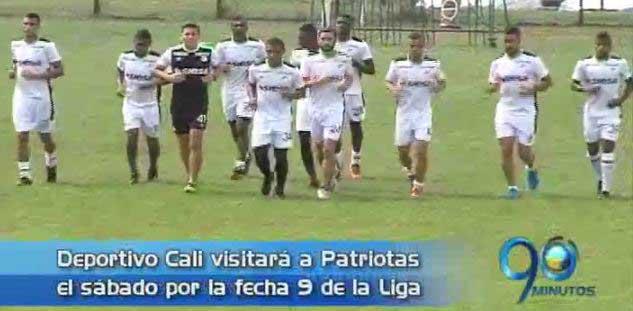 El central Luis Calderón se destaca en el equipo alterno del DeporCali