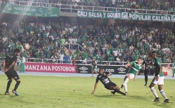 Sufrida victoria del Deportivo Cali en el Pascual Guerrero ante Once Caldas